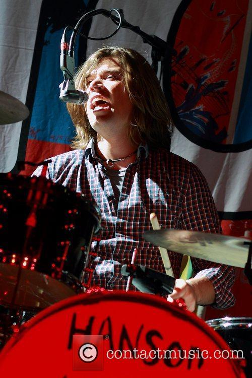 Zac Hanson Hanson perform live at HQ Complex...
