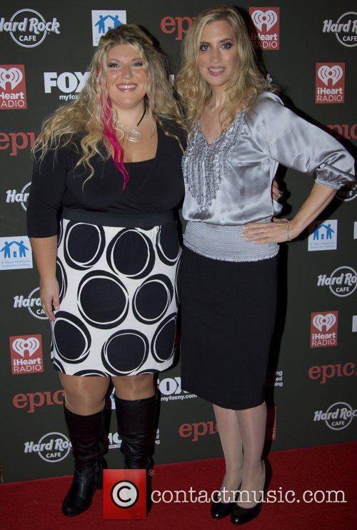Christine Nagy and guest attends Hard Rock Rocks...