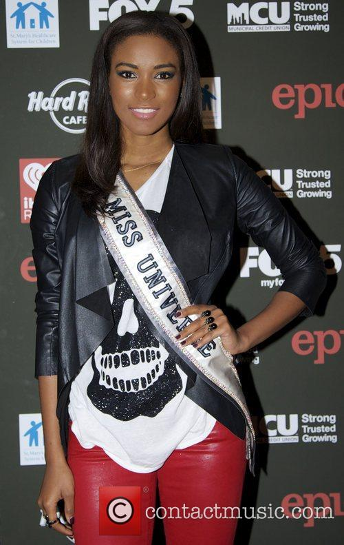 Leila Lopes attends Hard Rock Rocks Times Square...