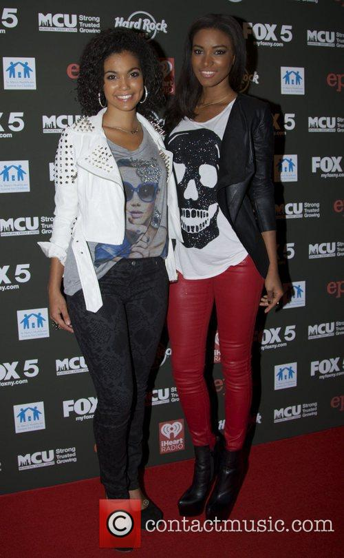 Logan West and Leila Lopes attends Hard Rock...