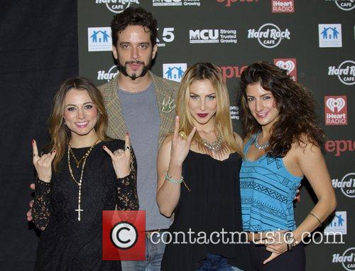 Rock of Ages Cast attends Hard Rock Rocks...