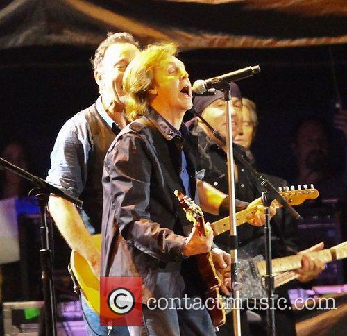 Sir Paul Mccartney and Bruce Springsteen 3