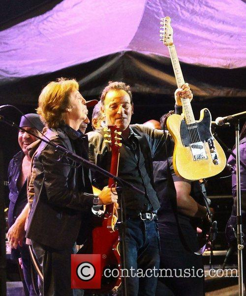 Sir Paul Mccartney and Bruce Springsteen 8