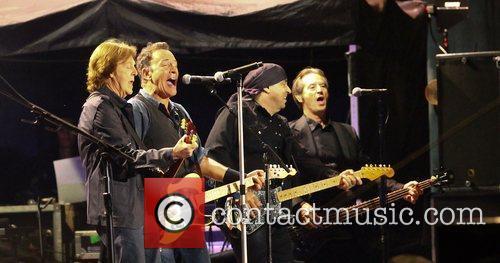 Sir Paul McCartney and Bruce Springsteen 12