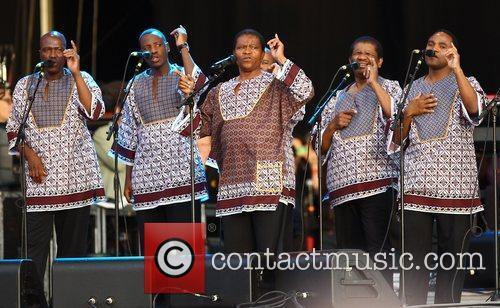 ladysmith black mambazo perform paul simons album 3991499