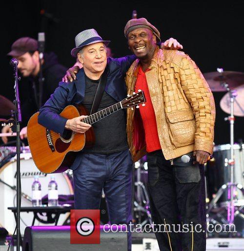 Paul Simon and Jimmy Cliff 2