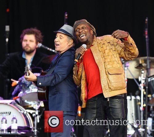 Paul Simon and Jimmy Cliff 3