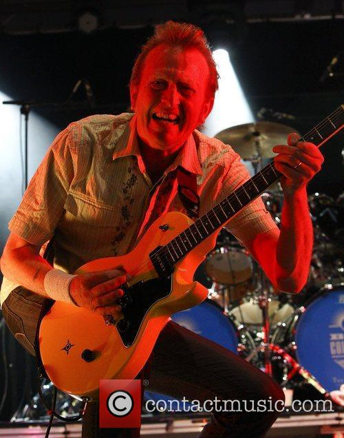 Bruce Watson of Big Country,  performing live...