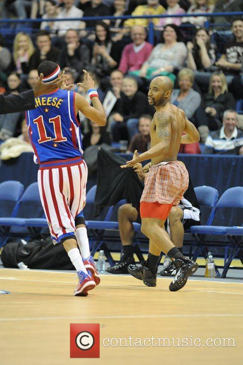 The Harlem Globetrotters Tour held at the Capital...