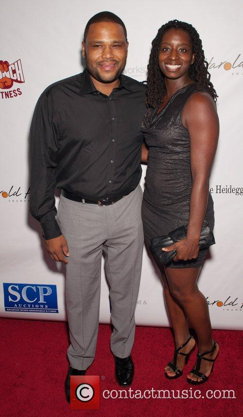 Anthony Anderson and Guest 12th Annual Harold Pump...