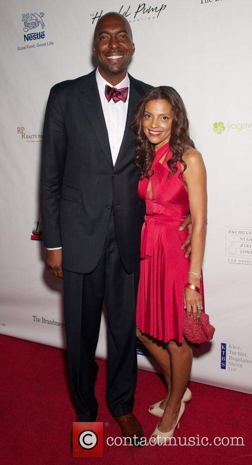 John Salley and Guest 12th Annual Harold Pump...