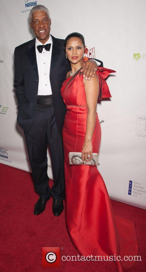 Julius Erving and Guest 12th Annual Harold Pump...