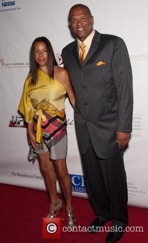 Marques Johnson and Guest 12th Annual Harold Pump...