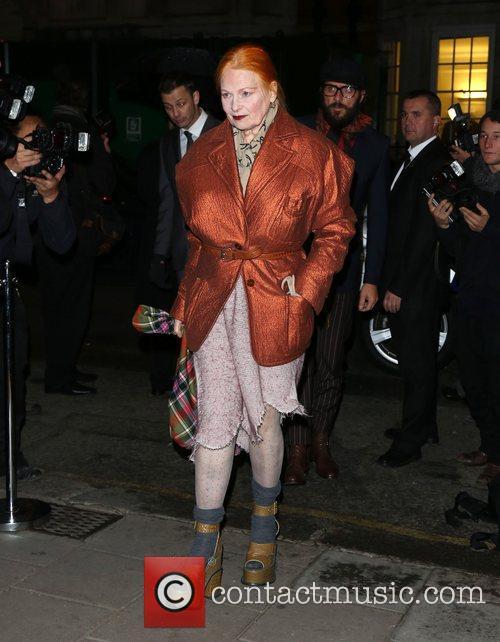 Vivienne Westwood At Bazaar Awards
