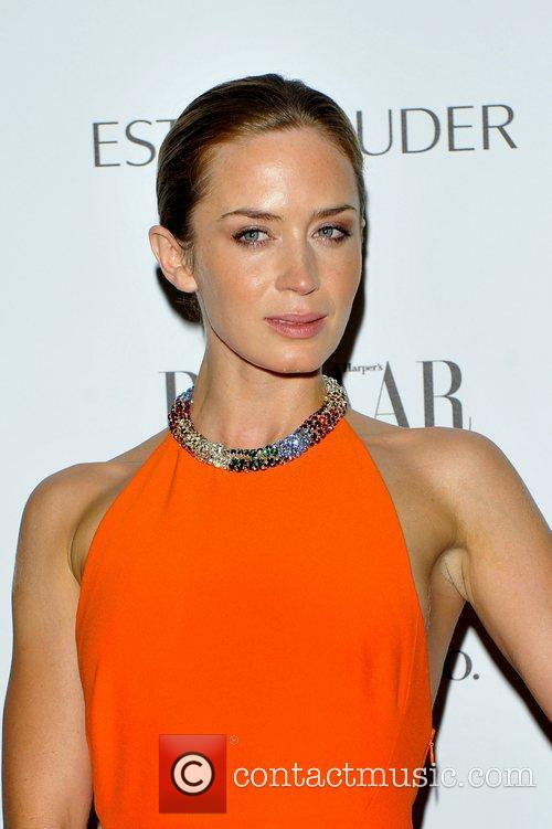 Emily Blunt At Bazaar Awards