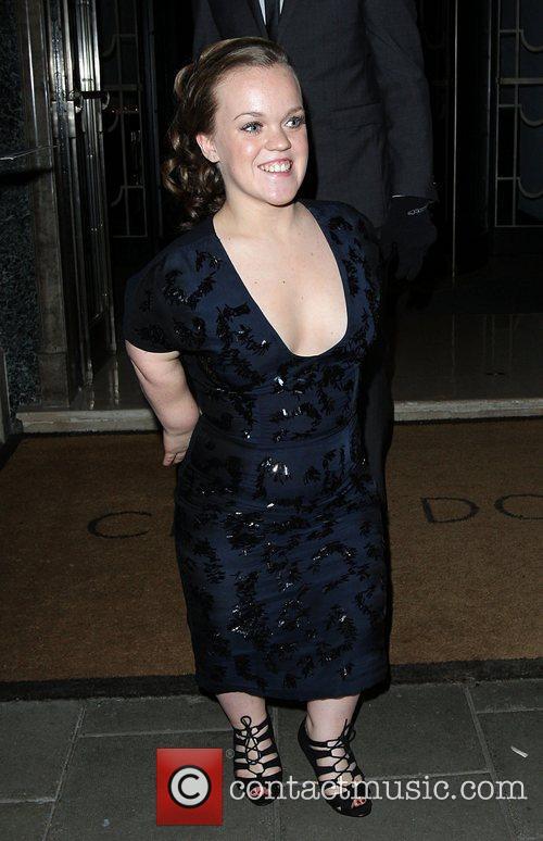 Ellie Simmonds departing the Harper's Bazaar Woman of...