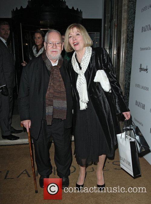 Peter Blake departing the Harper's Bazaar Woman of...
