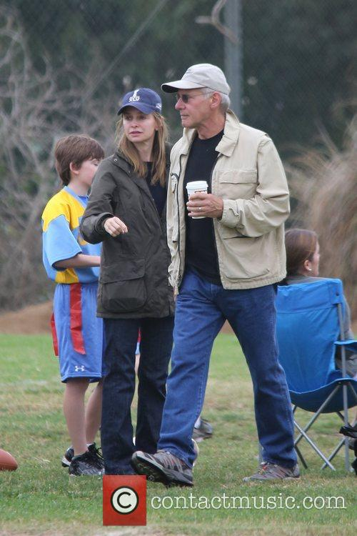 Harrison Ford, Calista Flockhart and Brentwood 10