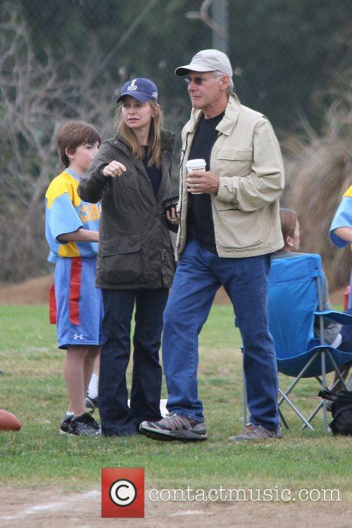 Harrison Ford, Calista Flockhart and Brentwood 11