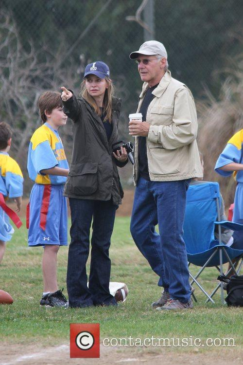 Harrison Ford, Calista Flockhart and Brentwood 8