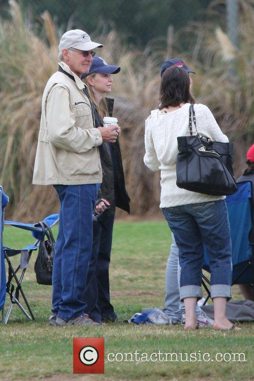 Harrison Ford, Calista Flockhart and Brentwood 3