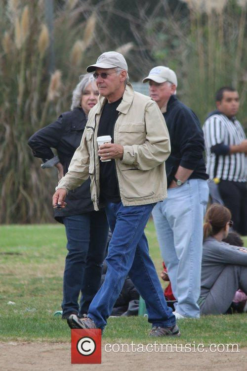 Harrison Ford and Brentwood 6