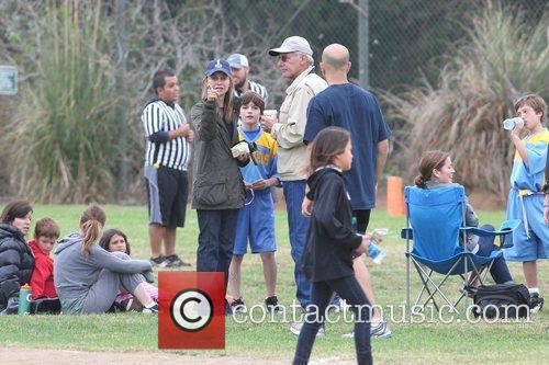 Harrison Ford and his wife Calista Flockhart spend...