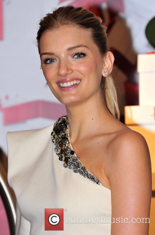 Lily Donaldson opens the Harrods Summer Sale