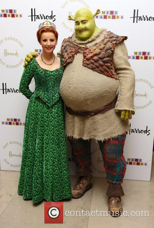 Shrek Fiona Actors