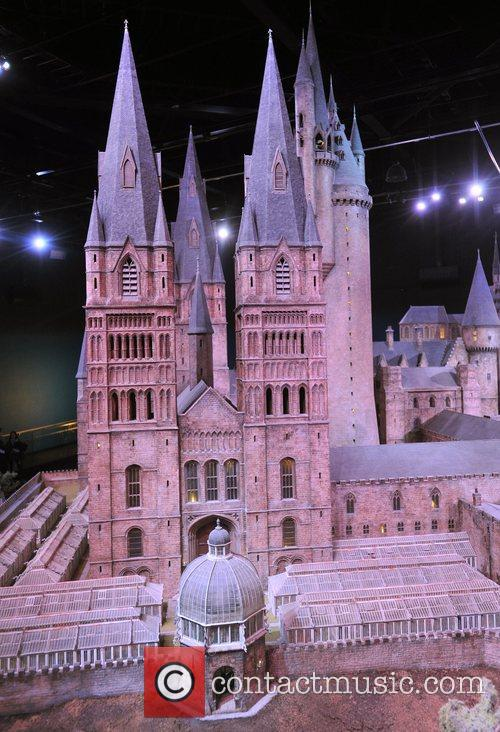 Hogwarts Scale Model at Warner Bros. Studios London