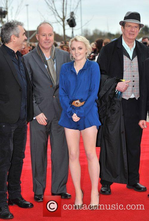 Alfonso Cuaron, David Yates, Evanna Lynch and Mike Newell 4