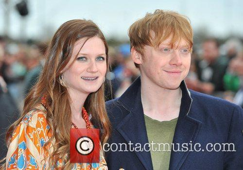 Bonnie Wright and Rupert Grint 2
