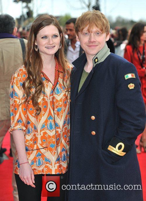 Bonnie Wright and Rupert Grint 4