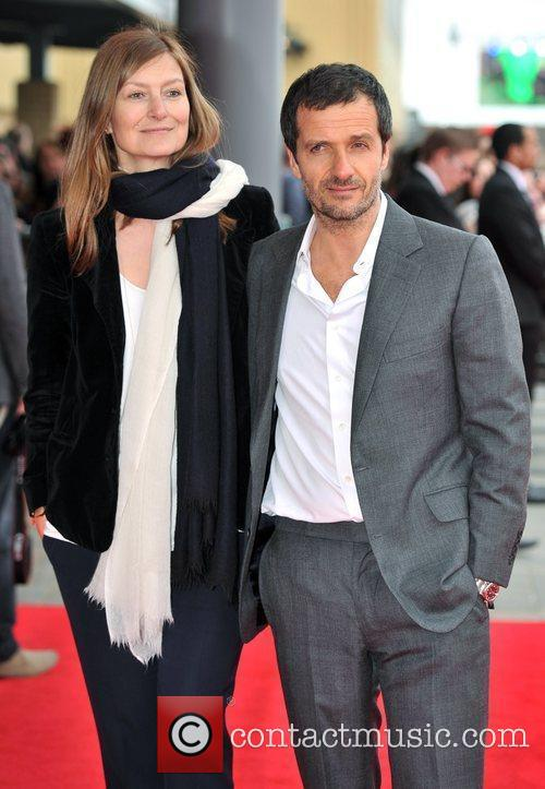 David Heyman and guest The worldwide Grand Opening...