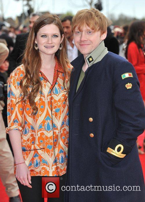 Bonnie Wright and Rupert Grint 3