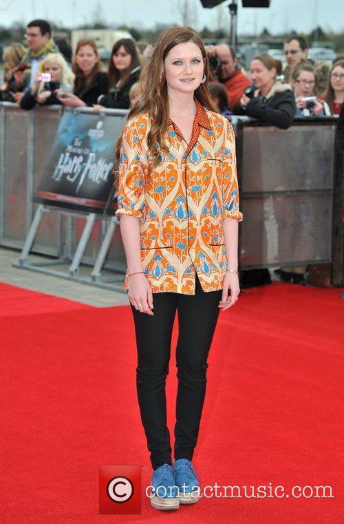 Bonnie Wright The Worldwide Grand Opening event for...