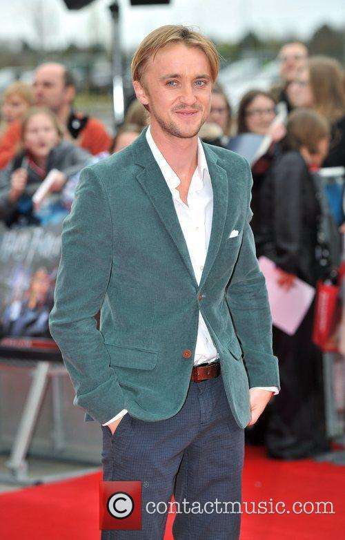 Tom Felton The Worldwide Grand Opening event for...