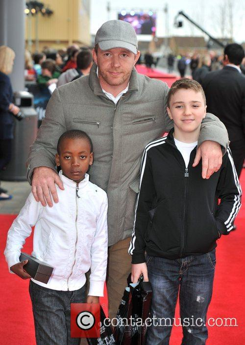 Guy Ritchie with sons David and Rocco The...