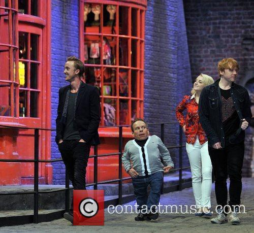 Rupert Grint, Evanna Lynch, Tom Felton and Warwick Davis 1