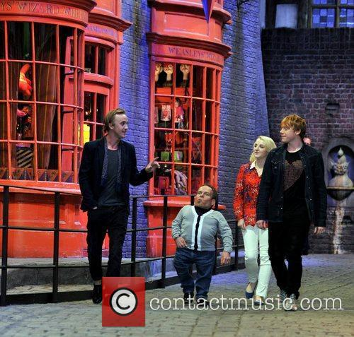 Rupert Grint, Evanna Lynch, Tom Felton and Warwick Davis 2