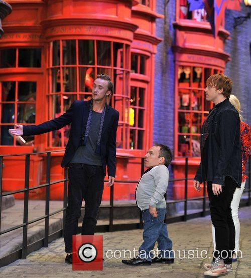 Rupert Grint, Evanna Lynch, Tom Felton and Warwick Davis 3