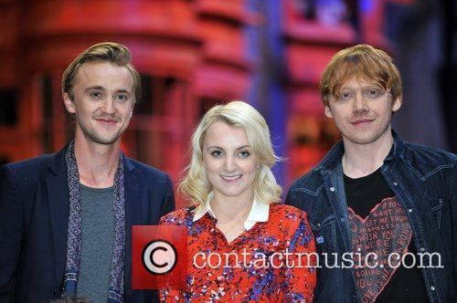Rupert Grint, Evanna Lynch, Tom Felton and Warwick Davis 5