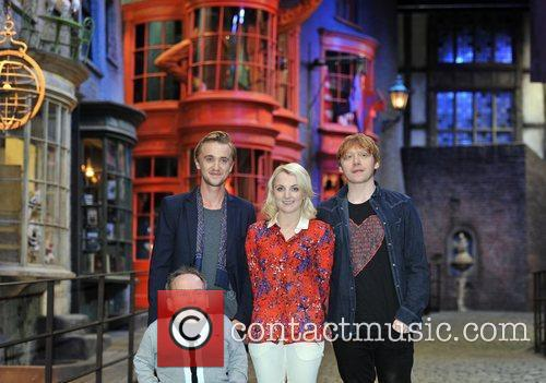 Rupert Grint, Evanna Lynch, Tom Felton and Warwick Davis 6