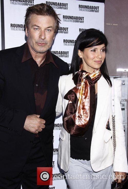 Alec Baldwin and Hilaria Thomas Opening night of...