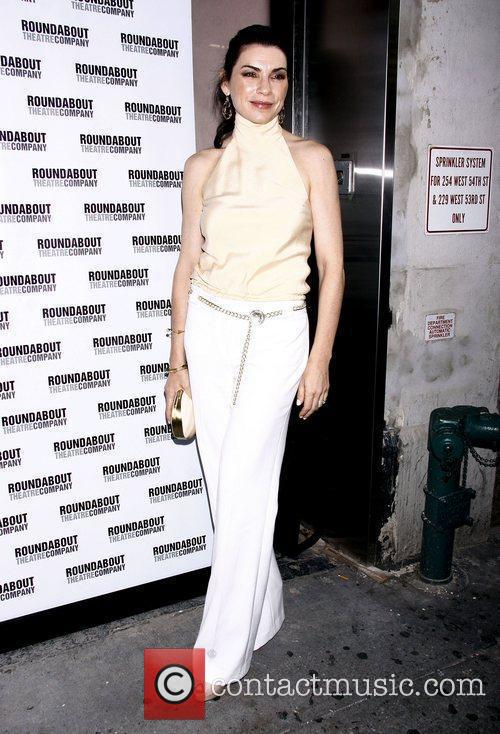 Julianna Margulies Opening night of the Broadway play...