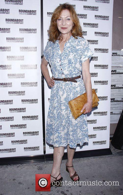 Julie White Opening night of the Broadway play...