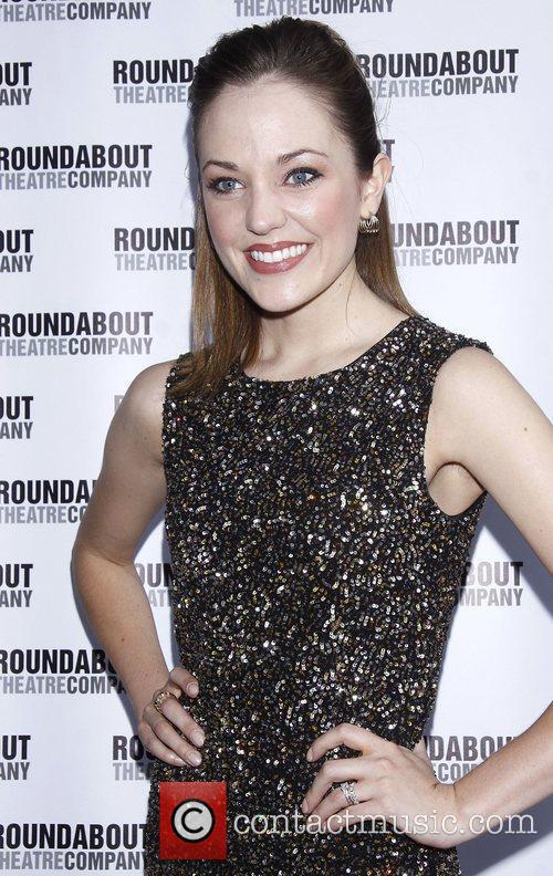 Laura Osnes Opening night of the Broadway play...