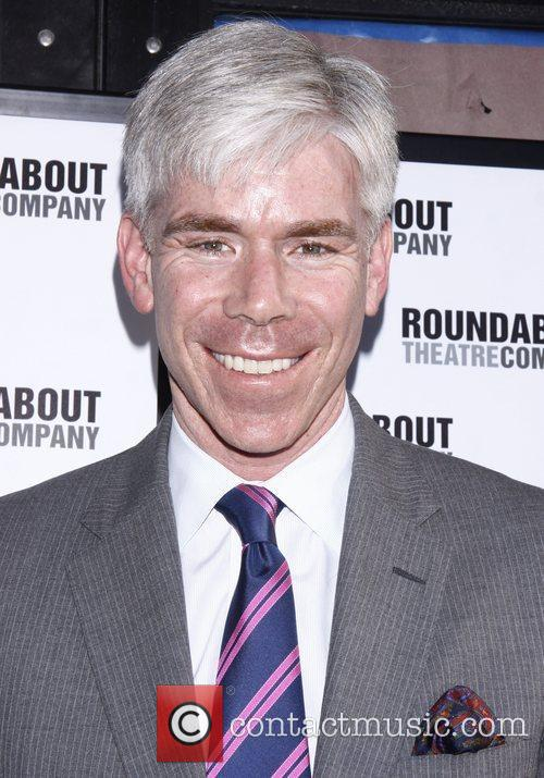 David Gregory Opening night of the Broadway play...