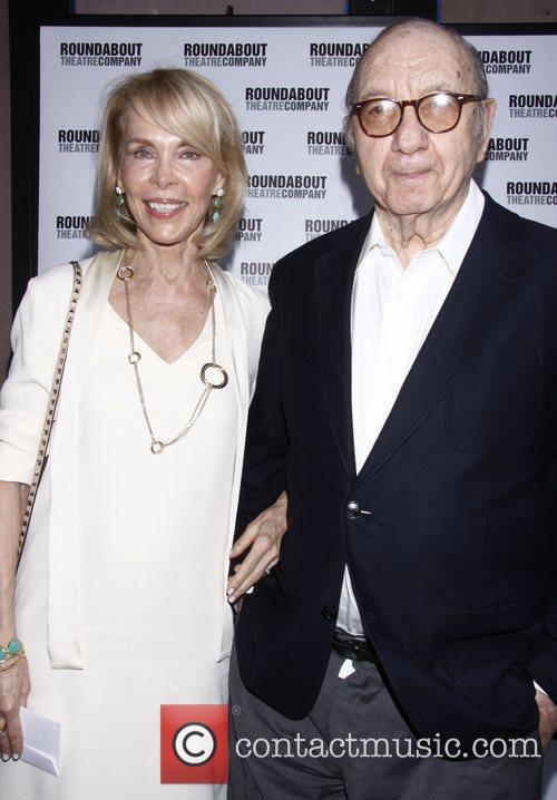 Elaine Joyce and Neil Simon Opening night of...