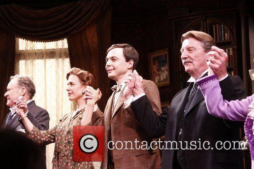 Charles Kimbrough, Jessica Hecht, Jim Parsons and Larry Bryggman 1